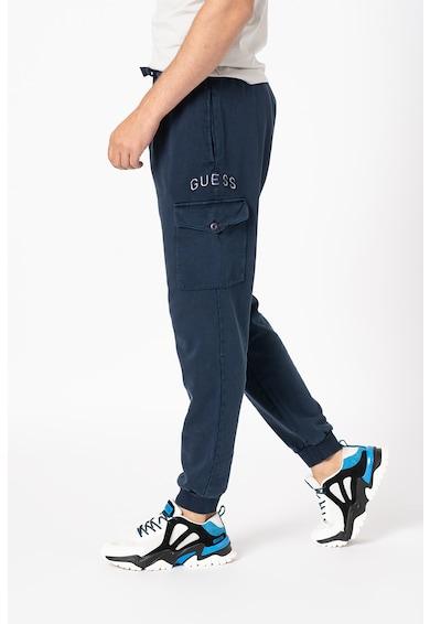 GUESS JEANS Pantaloni sport slim fit cu buzunar cu clapa Barbati
