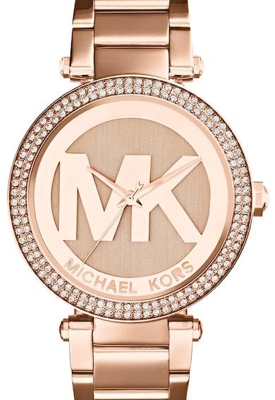 Michael Kors Ceas cu trei indici decorat cu cristale Femei