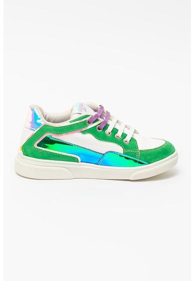 Guess Pantofi sport cu insertii de piele intoarsa ecologica Fete