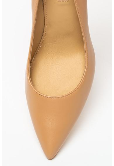 Guess Pantofi stiletto de piele cu varf ascutit Dafne Femei