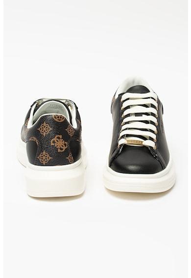 Guess Pantofi sport de piele si material sintetic Femei