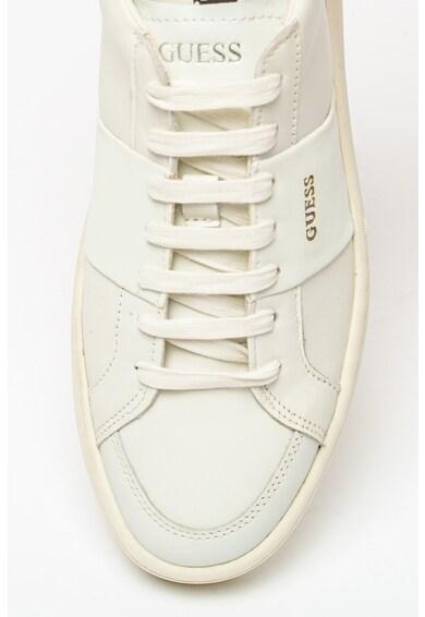 Guess Pantofi sport de piele ecologica si piele Barbati