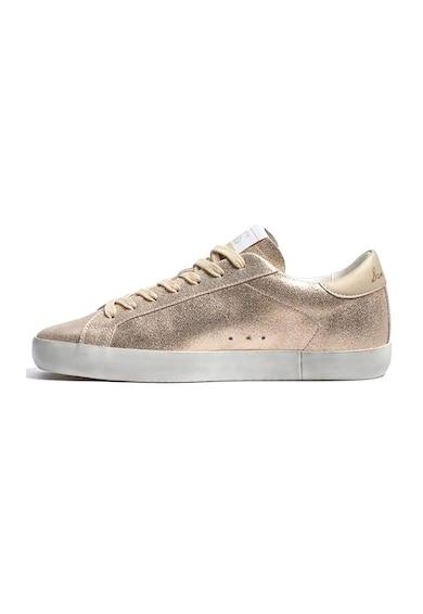 Sam Edelman Pantofi sport din piele cu aspect metalizat Aubrie Femei