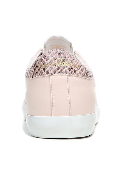 Sam Edelman Pantofi sport din piele cu insertii cu model piele de reptila Aubrie Femei