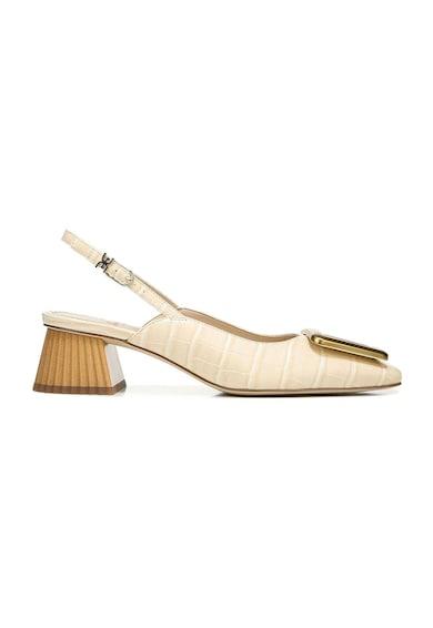 Sam Edelman Pantofi slingback din piele ecologica cu aspect de piele de crocodil Tanessa Femei