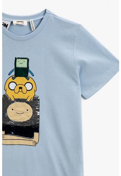 KOTON Tricou cu imprimeu Adventure Time Baieti