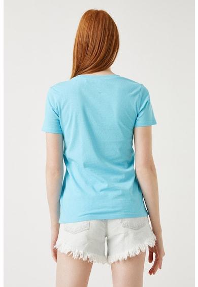 KOTON Tricou de jerseu cu imprimeu grafic discret Femei
