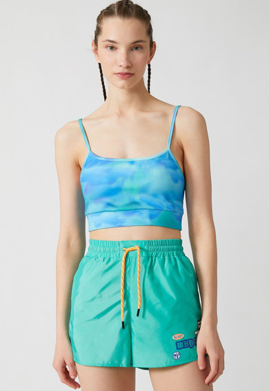 KOTON Bustiera cu model tie-dye Femei
