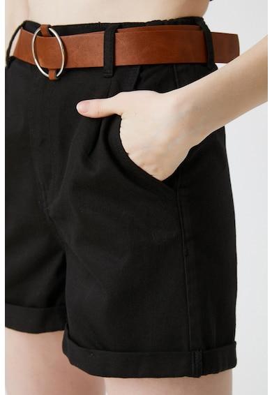 KOTON Pantaloni scurti de denim cu terminatie pliata Femei