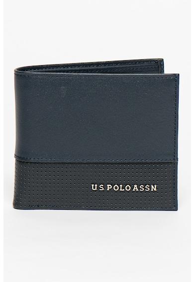 U.S. Polo Assn. Portofel pliabil din piele Barbati