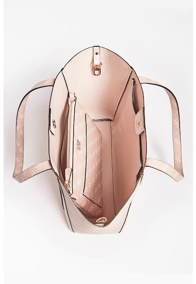 Guess Geanta shopper de piele ecologica cu model monogrma Naya Femei