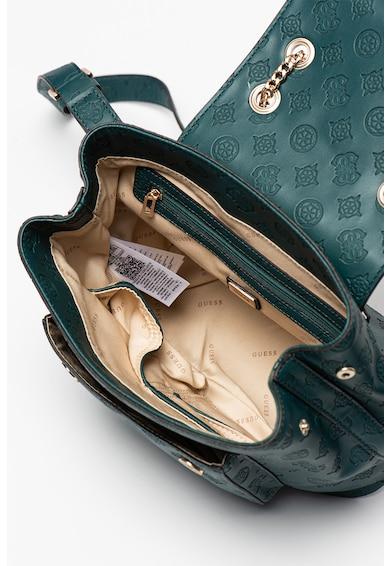 Guess Bea domború mintás hátizsák láncos pántokkal női