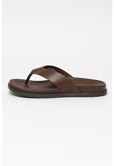 UGG Papuci flip-flop din piele Wainscott Barbati