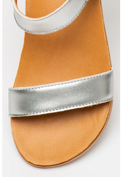 UGG Sandale de piele ecologica cu talpa plata Rynell Fete