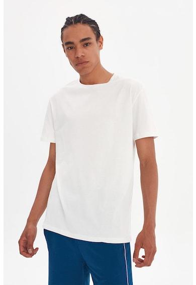 Trendyol Tricou regular fit cu imprimeu pe partea din spate Barbati