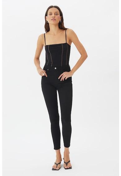 Trendyol Body cu bretele si cusaturi contrastante Femei