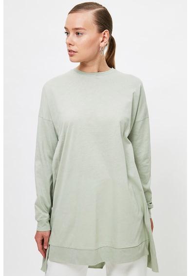 Trendyol Bluza asimetrica cu umeri cazuti Femei