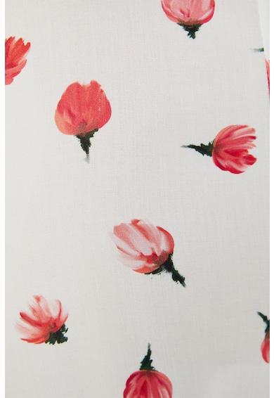 Trendyol Salopeta scurta cu decolteu in V si model floral Femei