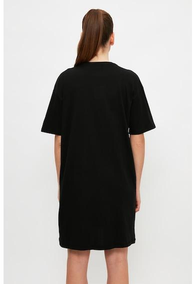 Trendyol Rochie-tricou cu imprimeu grafic Femei