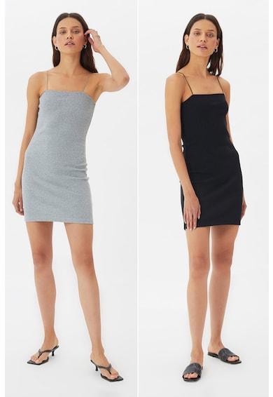 Trendyol Set de rochii cambrate cu striatii - 2 piese Femei