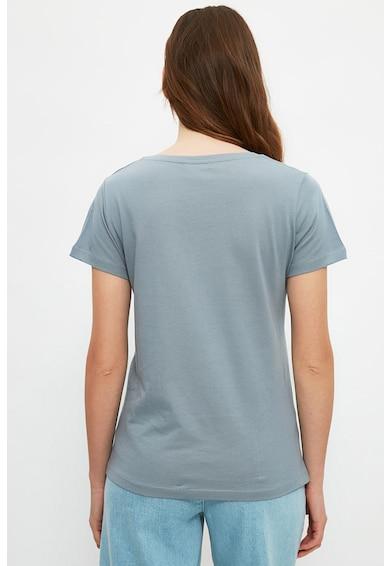 Trendyol Set de tricouri cu decolteu in V - 2 piese Femei