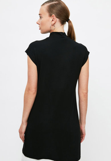 Trendyol Set de bluze lungi su guler scurt - 2 piese Femei