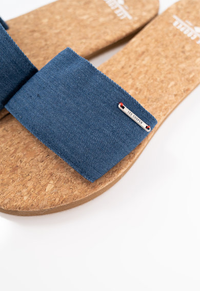 Lee Cooper Papuci cu garnituri din material textil Femei