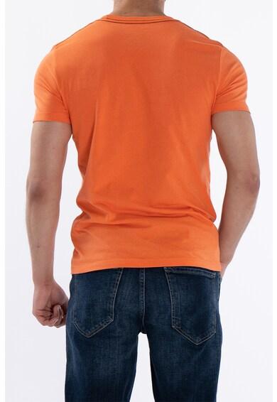 Kenvelo Tricou de bumbac cu imprimeu Barbati