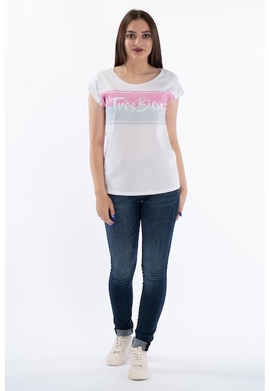 Kenvelo Tricou cu imprimeu text Femei