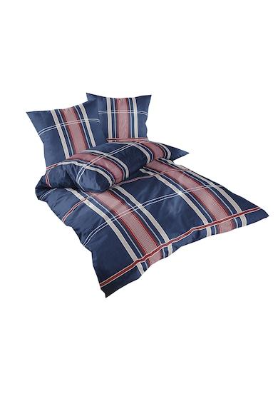 Dilios Lenjerie de pat Denim Blue  pentru 2 persoane, bumbac ranforce, multicolor Femei