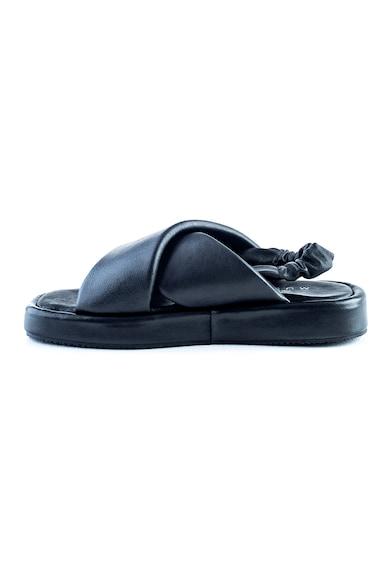 MUSK Sandale flatform de piele Femei
