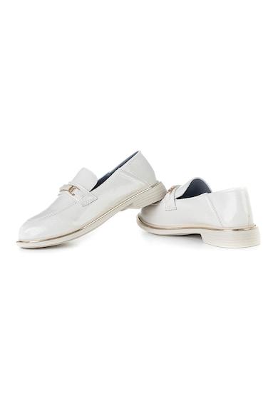 MUSK Pantofi loafer de piele ecologica lacuita Femei