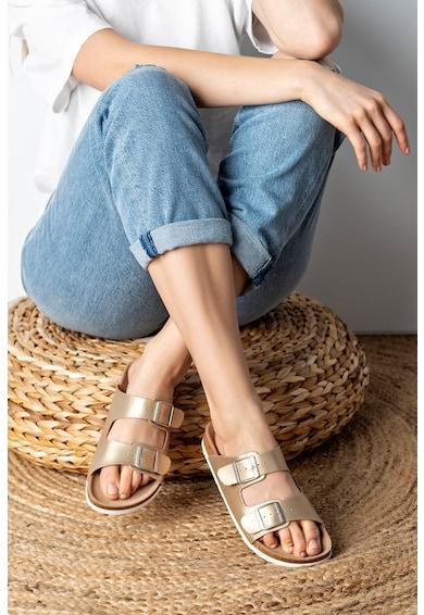 MUSK Papuci de piele ecologica Femei