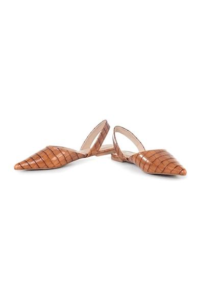 MUSK Pantofi slingback de piele ecologica cu varf ascutit Femei