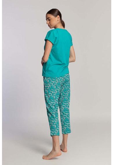 Sofiaman Pijama din amestec de modal Fresh Leaves Femei