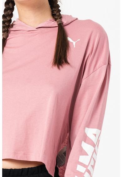 Puma Hanorac usor din amestec de modal cu tehnologie DryCELL si slituri laterale Modern Femei