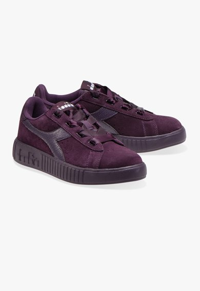 Diadora Pantofi sport cu insertii de piele intoarsa Game Step Femei
