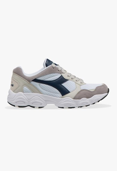 Diadora Pantofi unisex cu insertii de piele intoarsa pentru alergare Fit Run Femei