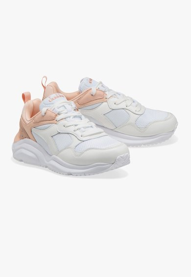 Diadora Pantofi sport cu insertii de piele Whizz Run Femei