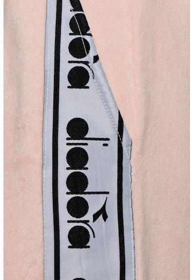 Diadora Pantaloni scurti cu snur si logo in lateral Trofeo Femei