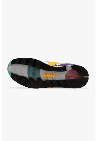Diadora Pantofi sport cu insertii de piele Kromadecka Barbati