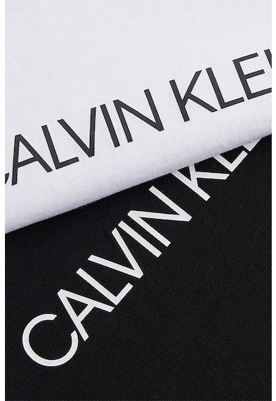CALVIN KLEIN JEANS Set de tricouri slim fit de bumbac organic -2 piese Femei