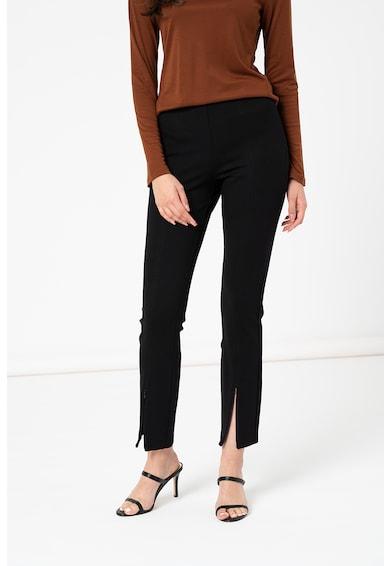 IVY & OAK Pantaloni cu talie inalt si slituri cu fermoar Femei
