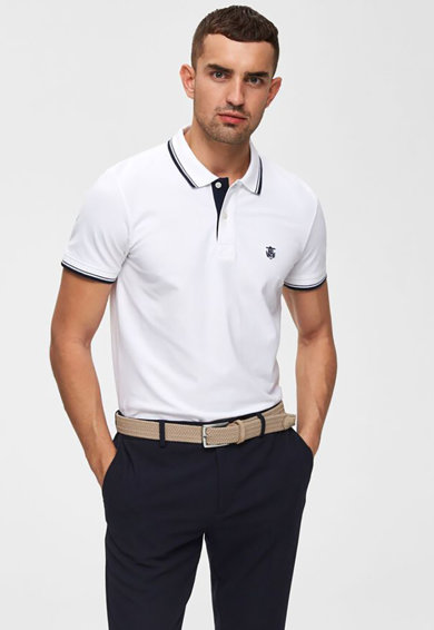 Selected Homme Tricou polo regular fit Barbati
