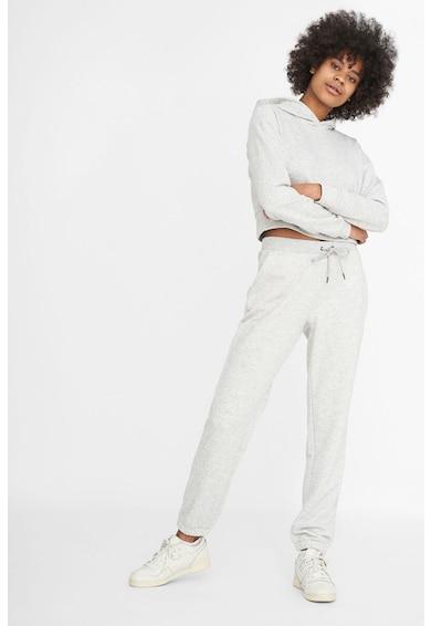 Noisy May Pantaloni sport din amestec de bumbac organic cu snur de ajustare Femei