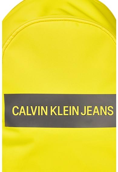 CALVIN KLEIN JEANS ,Rucsac din material textil cu imprimeu logo Barbati
