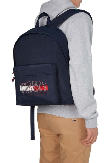 Tommy Jeans Rucsac cu barete ajustabile si logo Campus Barbati