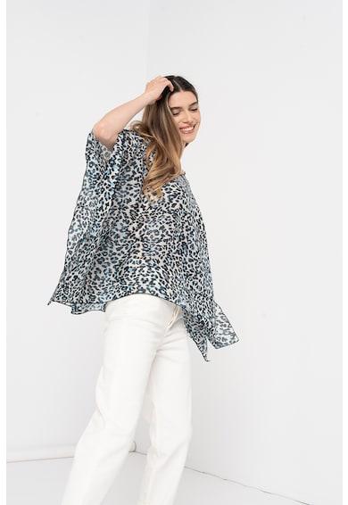 Amazing Bluza vaporoasa cu terminatie asimetrica Femei