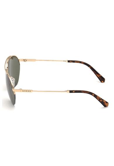 Guess Слънчеви очила Aviator с метална рамка Мъже