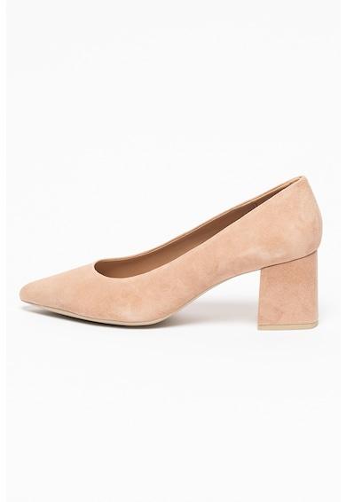 Geox Велурени обувки Bigliana с масивен ток Жени